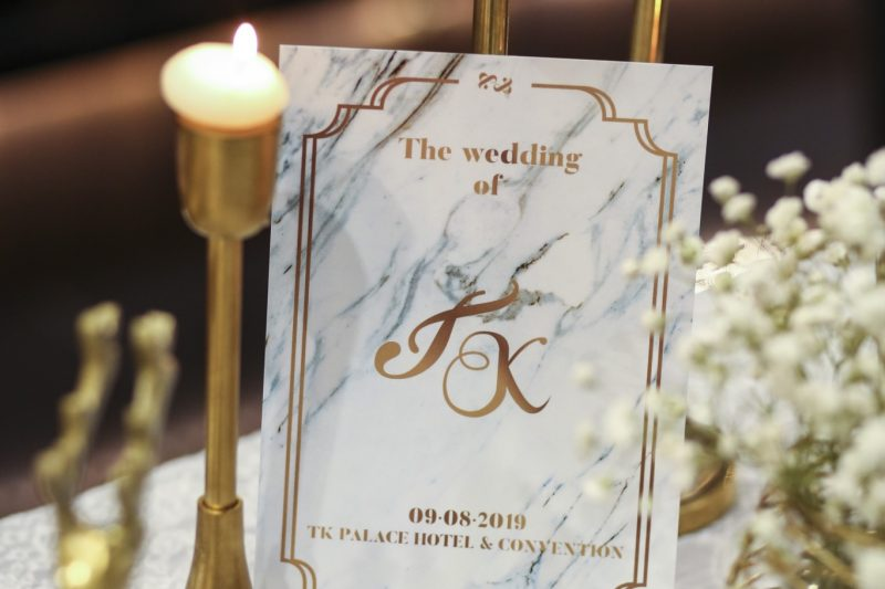 TK. Palace Hotel & Convention : Wedding